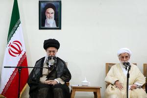 دیدار اعضای مجلس خبرگان رهبری با رهبرانقلاب