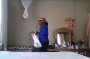رفتار وحشیانه پرستار با کودک ۹ ماهه