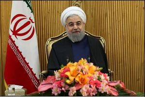 روحانی در فرودگاه مهرآباد