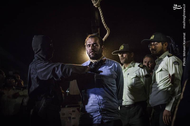 اعدام اسماعیل رنگرز _ قاتل آتنا اصلانی