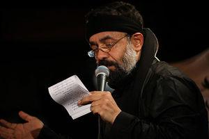 مداحی نشسته بر سینه عشق ثارالله حاج محمود کریمی