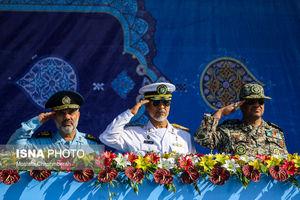 عکس/ رژه نیروهای مسلح در استان ها