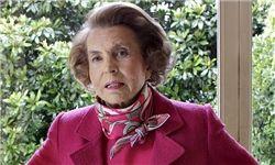 ثروتمندترین زن جهان درگذشت/ روابط غیرقانونی با سارکوزی که ناگفته ماند