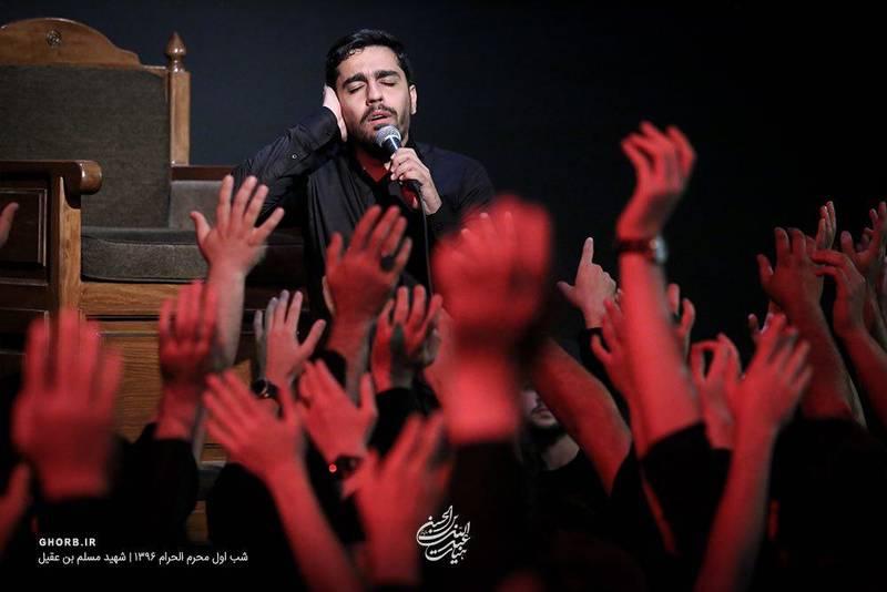 حاج حنیف طاهری نوحه هفتاد و دو تن بودن - شب اول محرم 96
