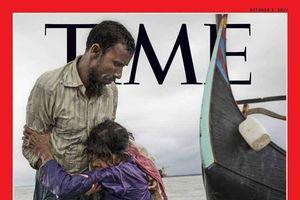 عکس/ آواره میانماری عکس جلد مجله تایم شد