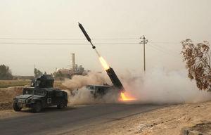 پیشروی نیروهای ارتش عراق در شرقاط