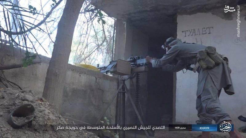 نبرد دیرالزور به روایت دوربین داعش