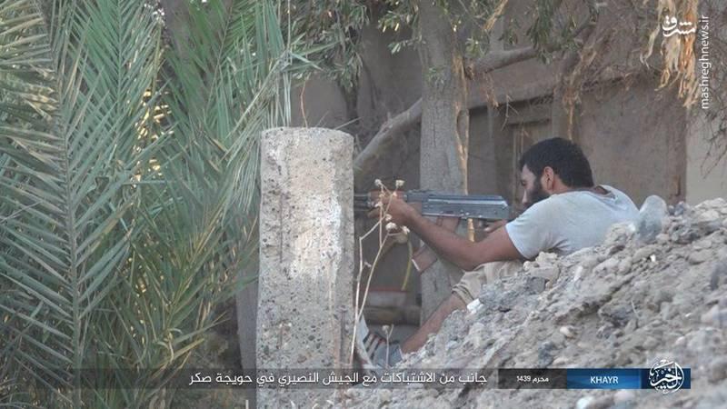 نبرد دیرالزور به روایت دوربین داعش+عکس
