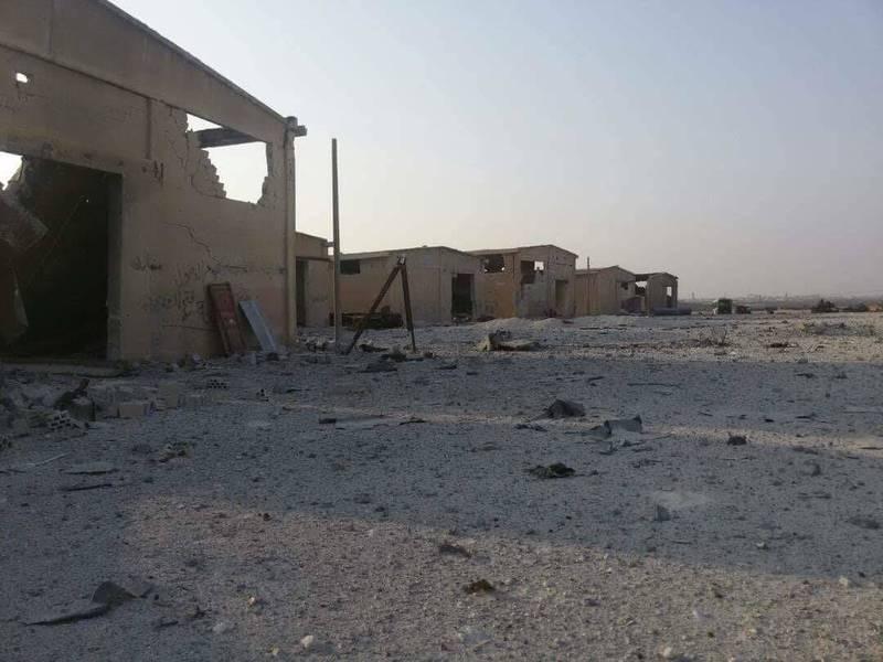 پادگان آموزشی جبهه النصره با خاک یکسان شد