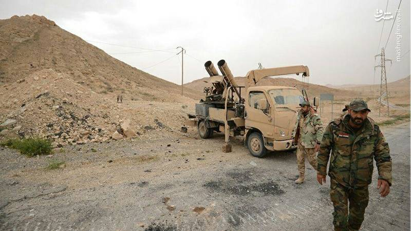 راکت انداز تقویت شده ارتش سوریه