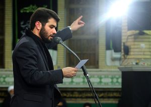 ابالفضل سقای تشنه حسین - حاج میثم مطیعی مداحی شب تاسوعا