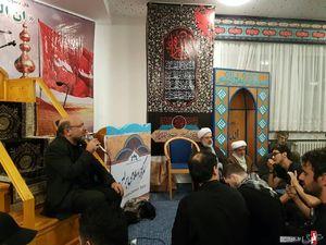 عکس/ شب سوم محرم در مرکز اسلامی برلین