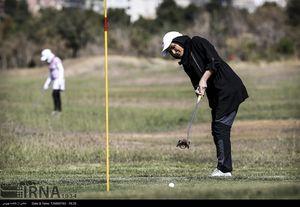 عکس/ مسابقات گلف بانوان
