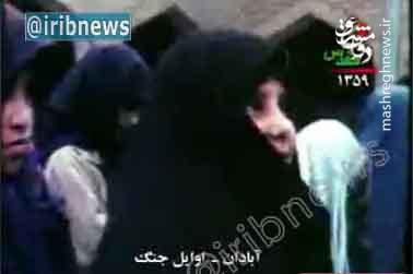 پیام  دختر دانش آموز آبادانی به امام خمینی(ره) در اوایل جنگ