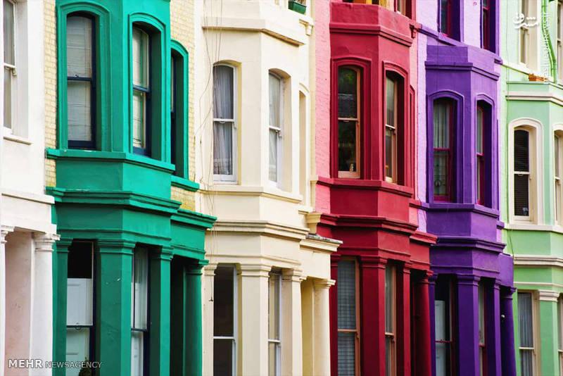 رنگ آمیزی ساختمان ها برای جذب گردشگر