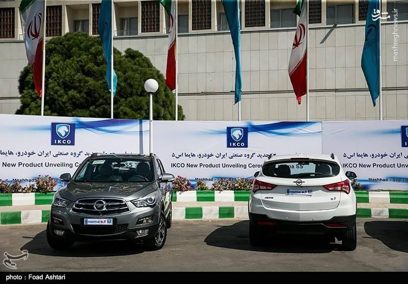 معرفی محصول جدید گروه صنعتی ایران خودرو هایما اس ۵