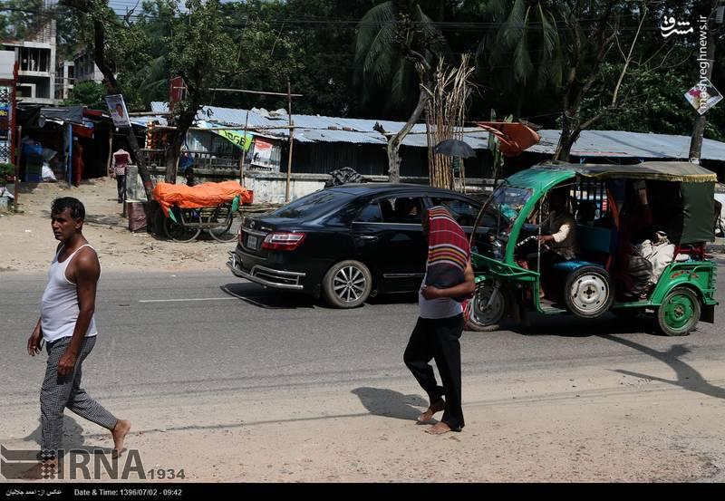 مسافرکشی مردم بنگلادش عکس با حال سفر به بنگلادش خودرو سه چرخ اخبار بنگلادش اتوریکشا