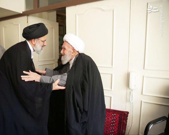 دیدار تولیت آستان قدس رضوی با آیت الله ناصری