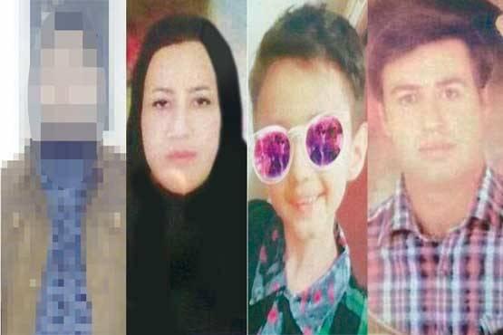 دستگیری عامل قتل خانوادگی در روستا +عکس