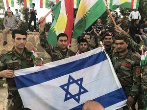 کردستان عراق پرچم اسرائیل