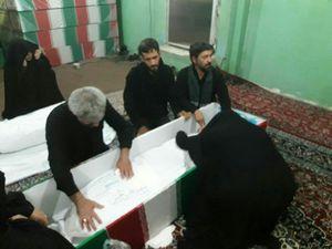 فیلم/ وداع جانسوز خانواده شهید حججی در معراج شهدا