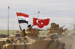 عکس/ مانور نظامی مشترک ترکیه و عراق