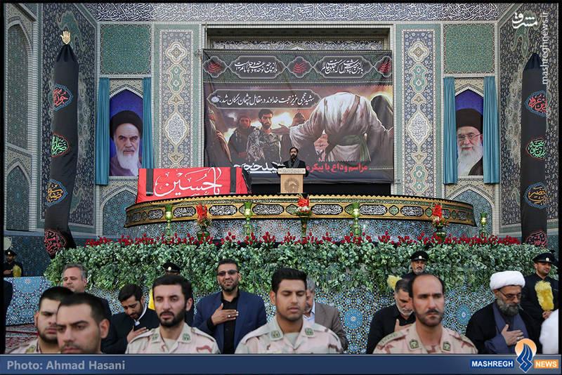 تشییع شهید محسن حججی در مشهد مقدس