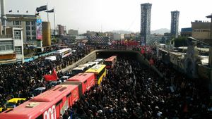 میدان فردوسی تا امام حسین موقتاً مسدود شد