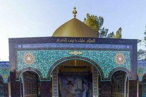 عکس/ محل دفن پیکر پاک شهید حججی در نجف آبادِ اصفهان