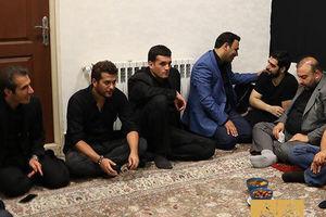 عکس/ حضور سیاوش خیرابی در هیئت ریحانه الحسین(ع)