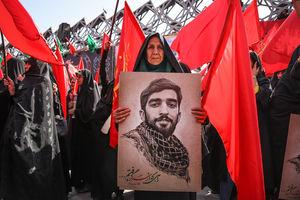 تشییع شهید حججی در تهران