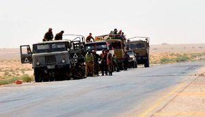 نیروهای سوری در دیرالزور