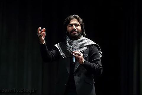 فیلم/ شعرخوانی جانسوز فاطمیه توسط صابر خراسانی