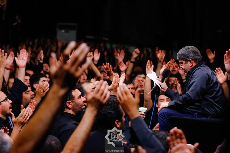 صوت/محمدرضا طاهری؛ شب ششم محرم96