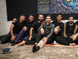 عکس/ لیگ برتریها در هیئت ریحانة الحسین(ع)