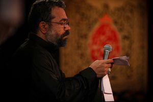 مداحی ترکی حاج محمود کریمی - شب هفتم محرم 96 - علی لای لای بالام لای لای