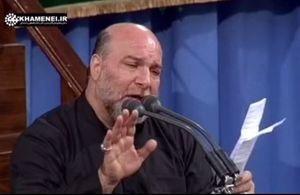 مداحی حاج حسین سازور برای شهید محسن حججی در حضور رهبر انقلاب - شب هشتم محرم 96