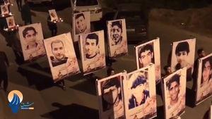 فیلم/ شبِ «حضرت قاسم» در سرزمینِ قاسم های شهید