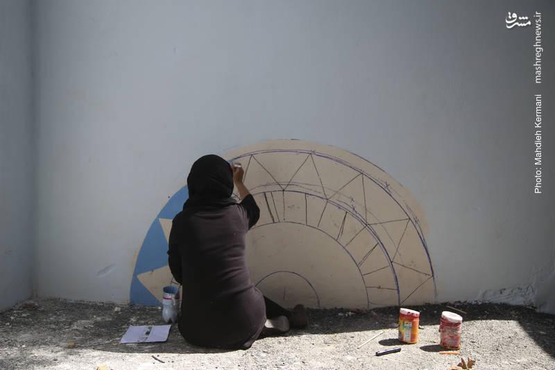 فضاسازي مدرسه هاي آموزشي كودكان كار