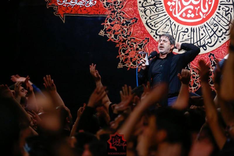 صوت/ محمدرضا طاهری؛ شب هشتم محرم96