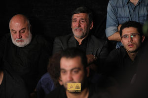عکس/ صفار هرندی در هیئت ریحانة الحسین(ع)