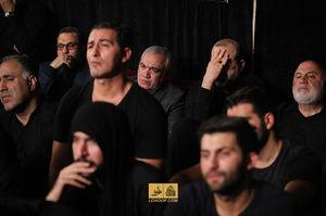 عکس/ فتح اللهزاده در هیئت بنیفاطمه