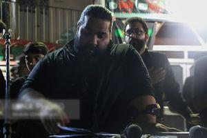 فیلم/ مداحی رضا صادقی در محرم