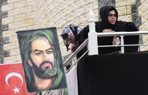 عزاداری چندین هزارنفری شیعیان در ترکیه