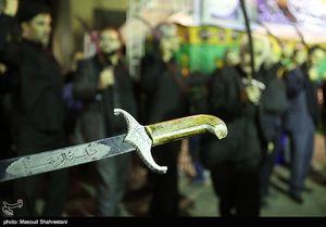 عکس/ عزاداری شاه حسین گویان در شب عاشورا