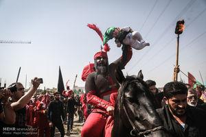 عکس/ عزاداری روز عاشورای حسینی در سراسر کشور