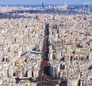 عکس/ عزاداری عاشورای حسینی در بیروت