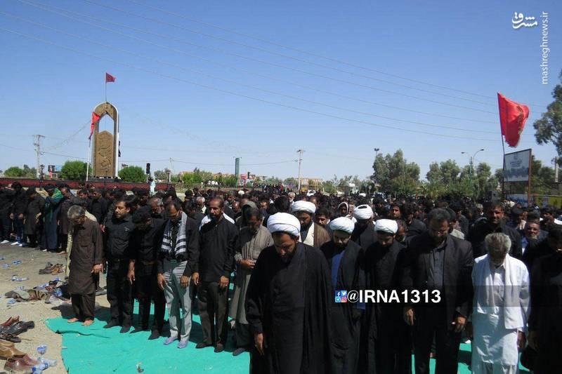 نماز ظهر عاشورا در کرمان