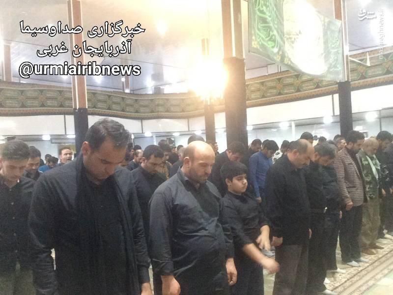 نماز ظهر عاشورا در پیرانشهر