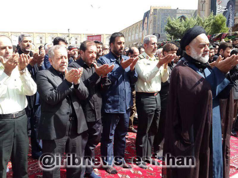 نماز ظهر عاشورا در اصفهان